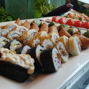 sushi, japanese, seafood