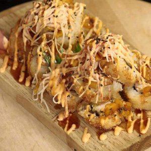 Tsunami Roll (Deep Fried)